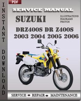 suzuki dr 400 service manual