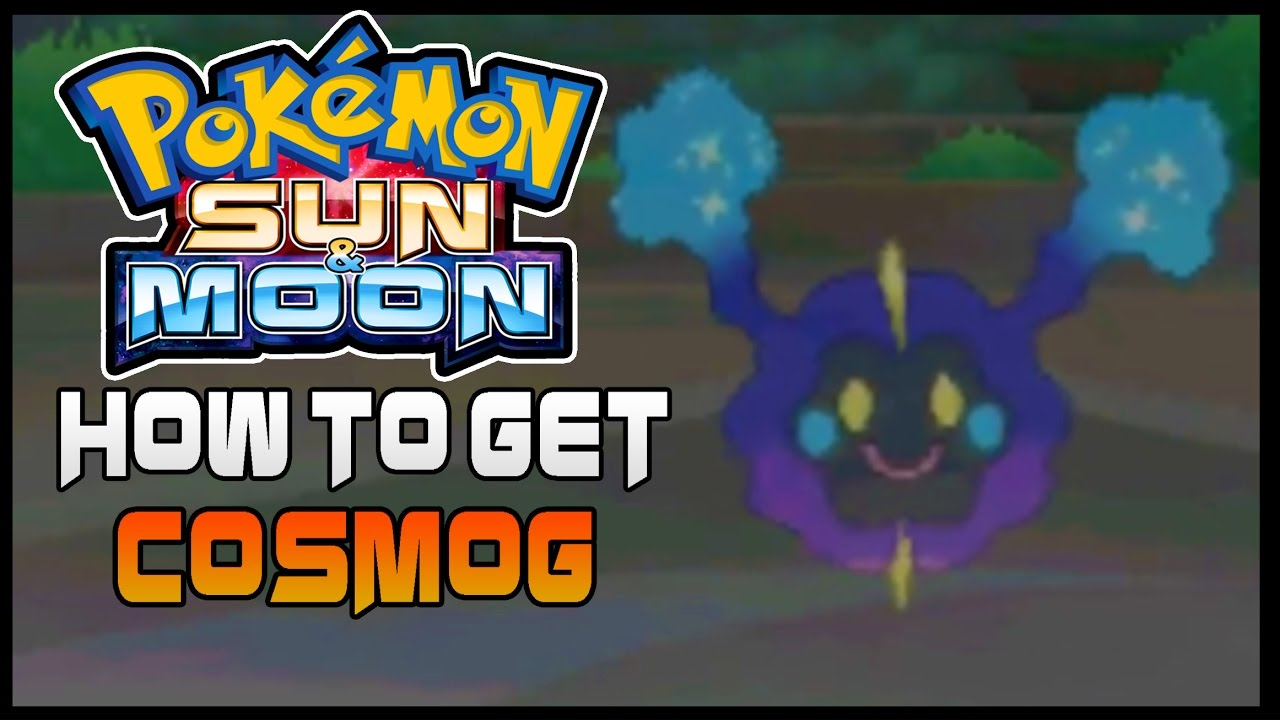 Sun and moon how to get cosmog