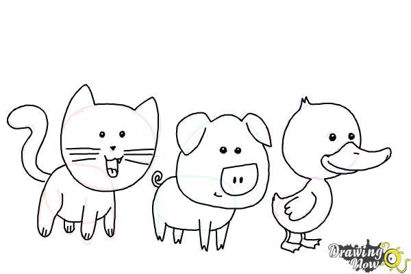 Www drawingnow com how to draw animals