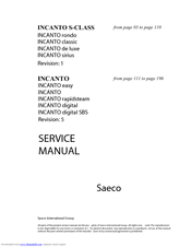 saeco incanto rapid steam manual pdf