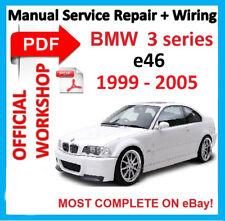 bmw 318i e46 workshop manual