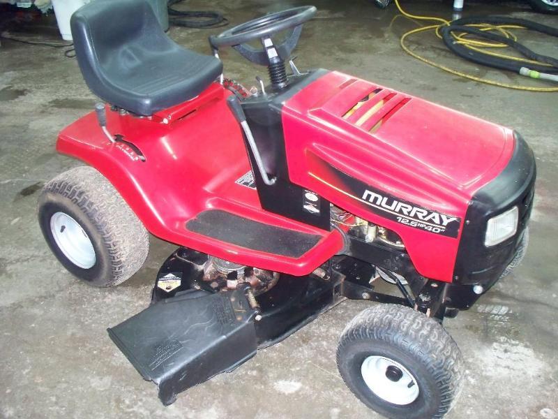 1998 murray riding mower manual
