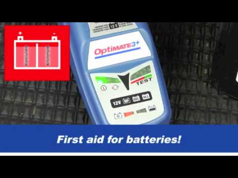 Optimate 3 battery charger manual