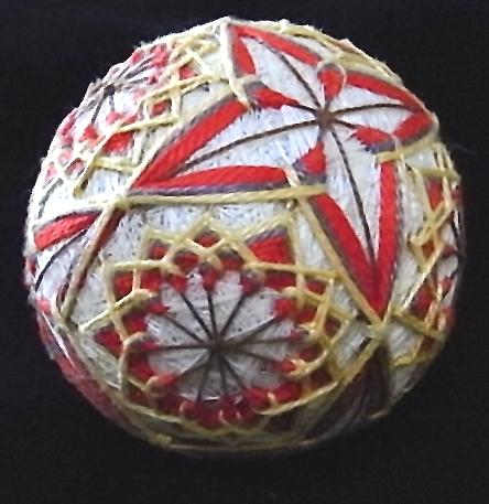 instructions for japanese temari balls