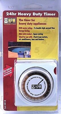 hpm 24 hour analogue timer instructions