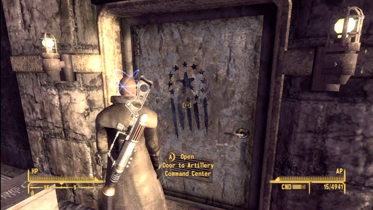 Fallout new vegas how to get to the holotape projector