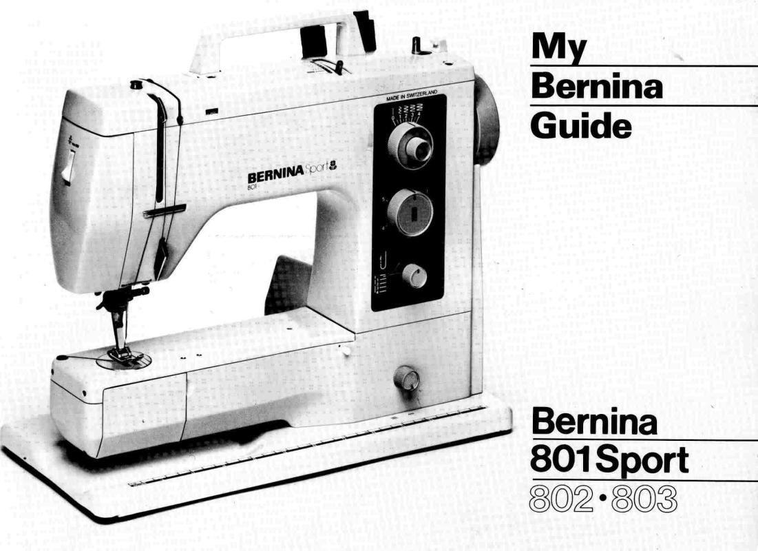 bernina 1230 manual free download