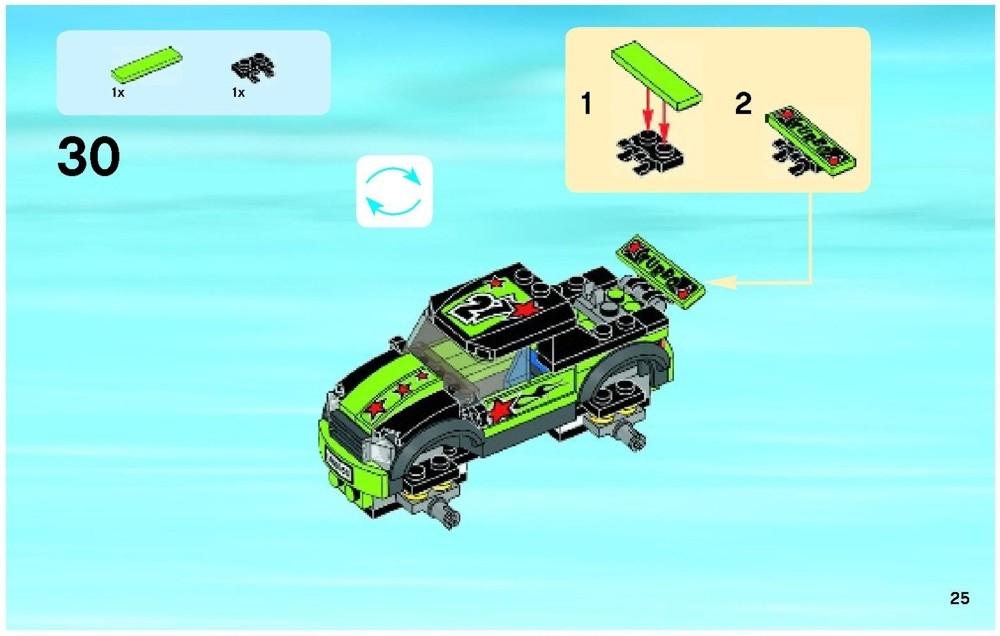 lego monster truck instructions