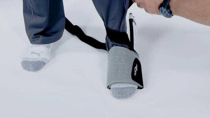 donjoy iceman knee wrap instructions
