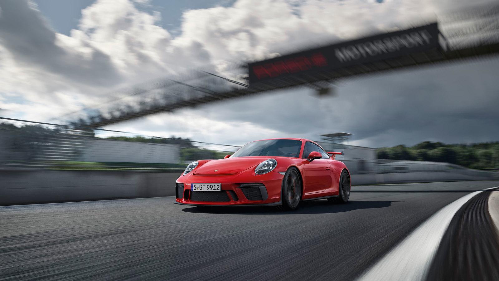 Porsche gt3 991.2 manual