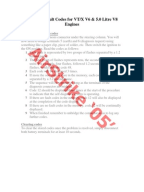 Astra h fault codes pdf