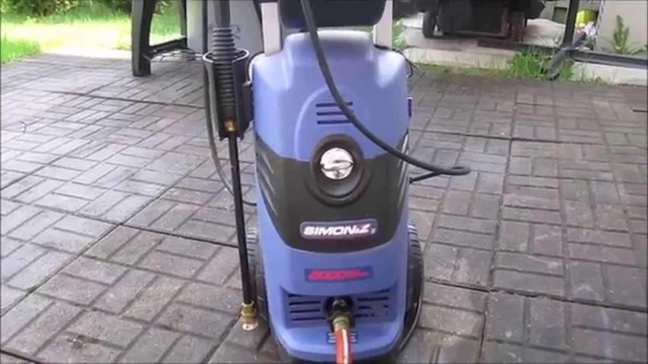 simoniz 1900 pressure washer manual