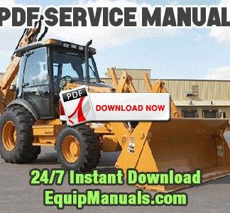 Case 590 backhoe service manual