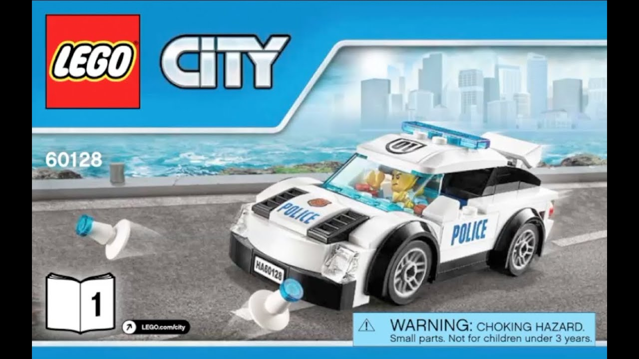 Lego police vehicle instructions