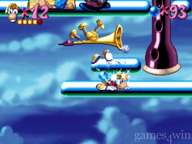 Rayman 3 how to open gate