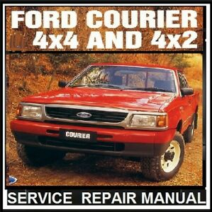 2001 ford courier workshop manual