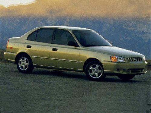 2001 hyundai accent gl manual review