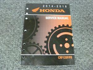2018 honda crf250r service manual