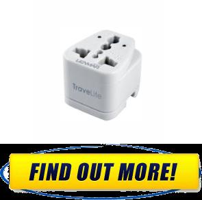 lenmar travelite adapter instructions