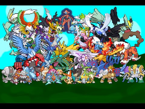 Pokemon crystal how to get all legendaries