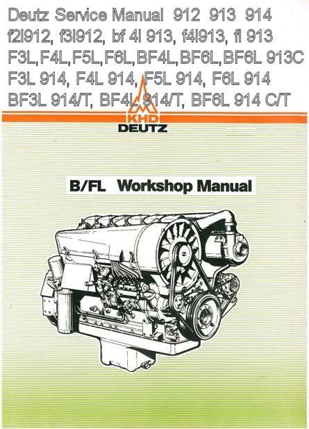 deutz f4m2011 service manual pdf