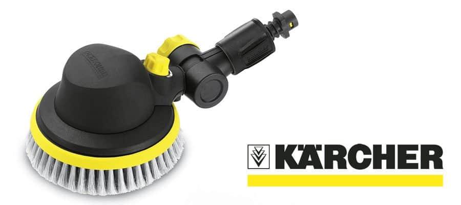 karcher rotary wash brush instructions