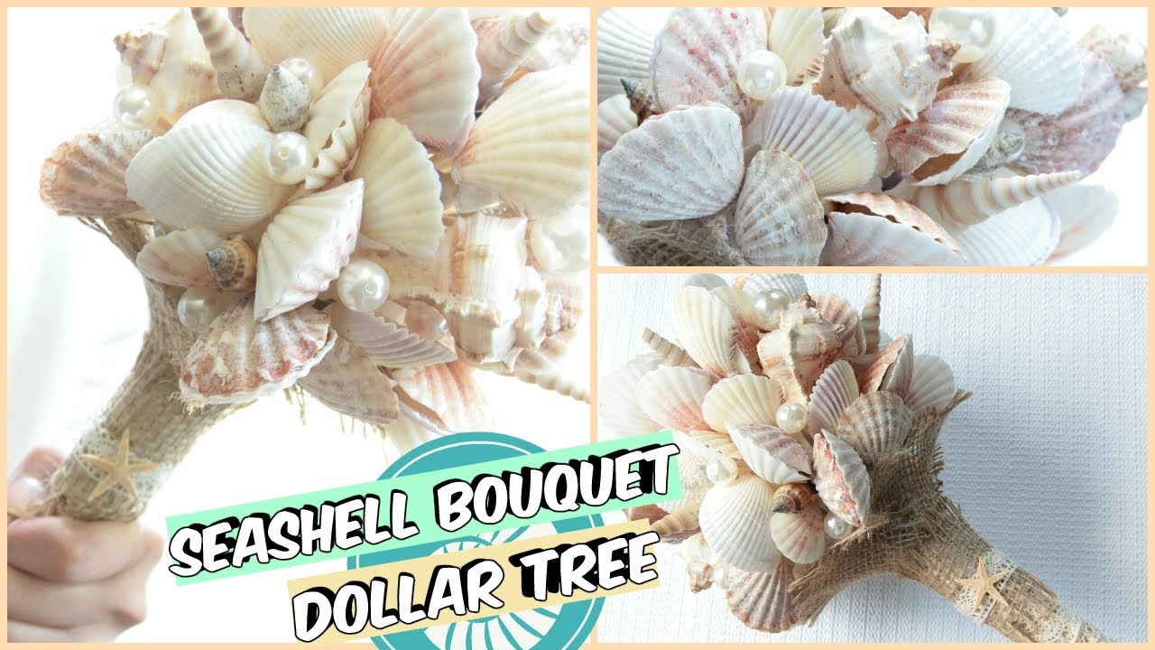 diy seashell bouquet instructions