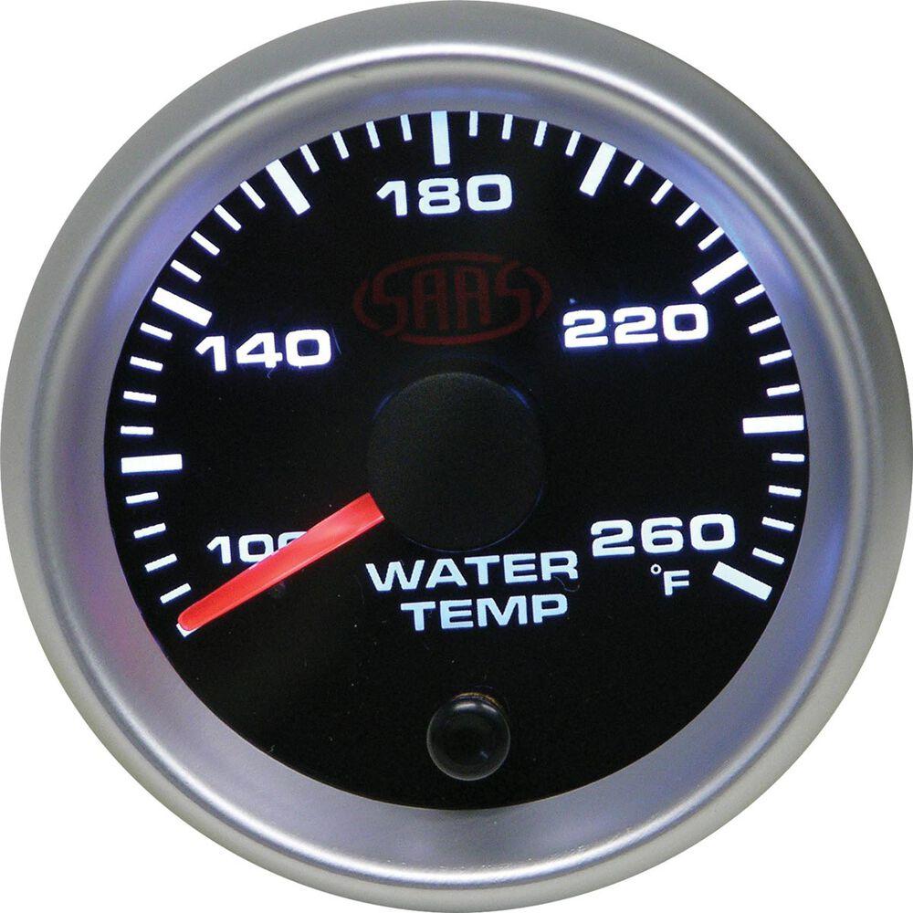 saas water temp gauge instructions