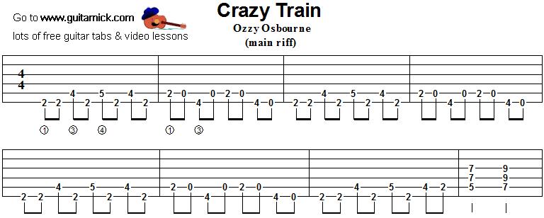 Crazy on you guitar tab pdf