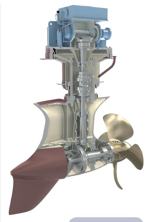 rolls royce azimuth thruster manual