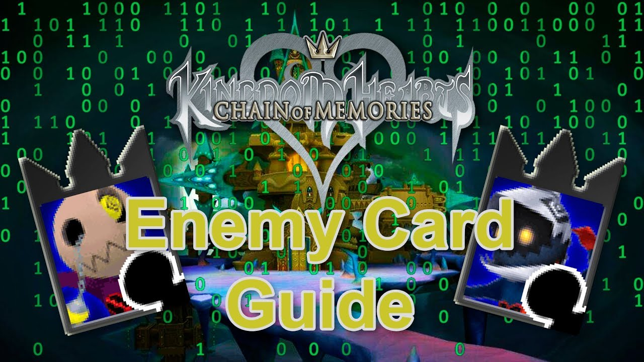 Kingdom hearts chain of memories premium cards guide