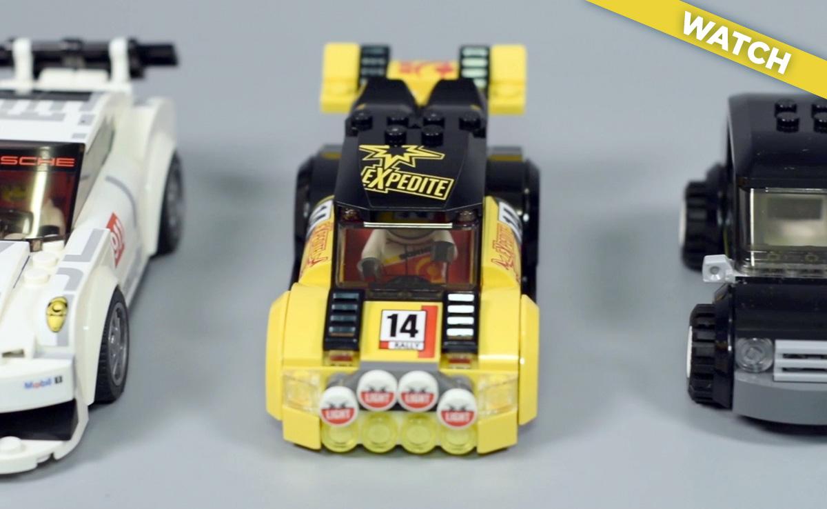 Lego city rally car instructions