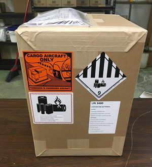 shipper declaration for dangerous goods packing instructions