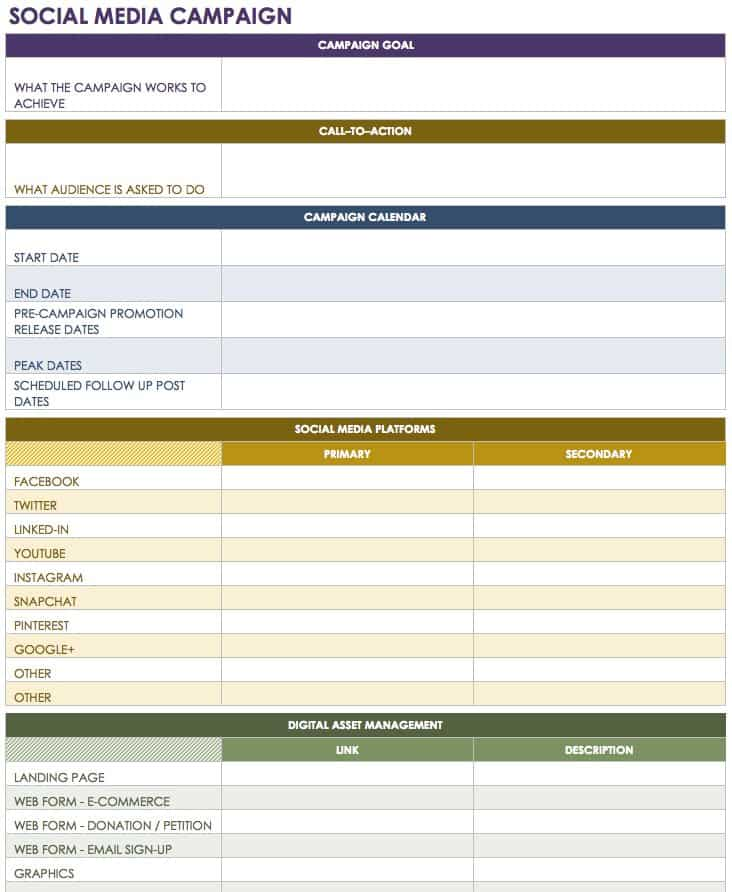 Social media report example pdf