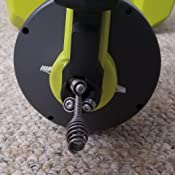ryobi drain auger instructions