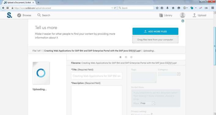 What is a scribd document