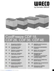 Waeco cf 60 instruction manual