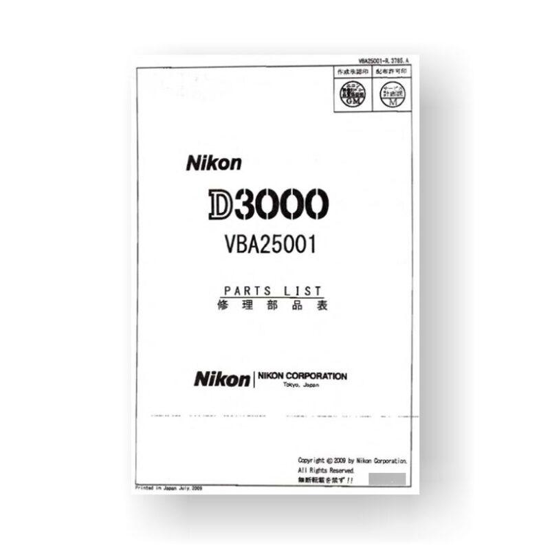 nikon d3000 repair manual pdf