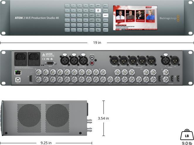 Blackmagic atem 1m e production switcher manual