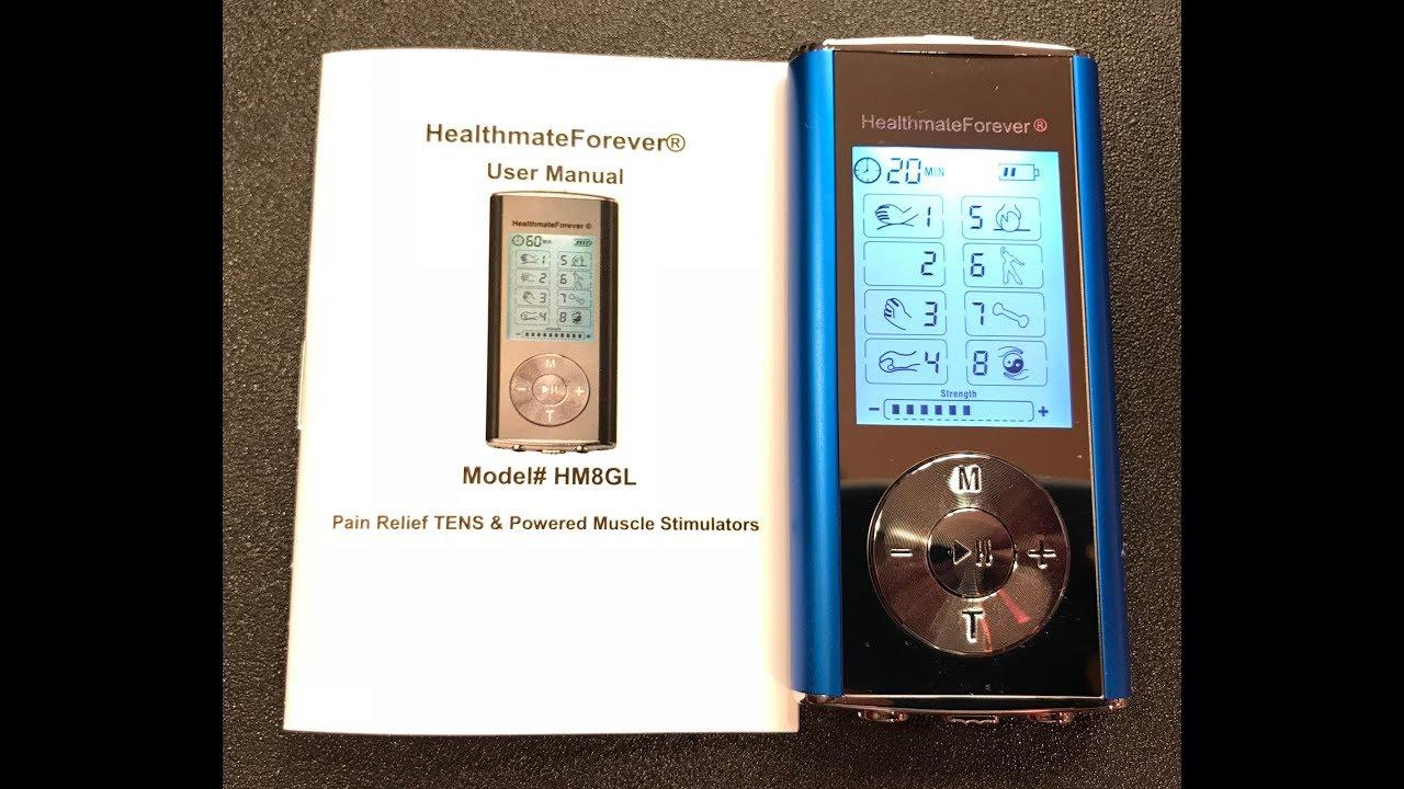 healthmateforever tens unit hm8ml manual