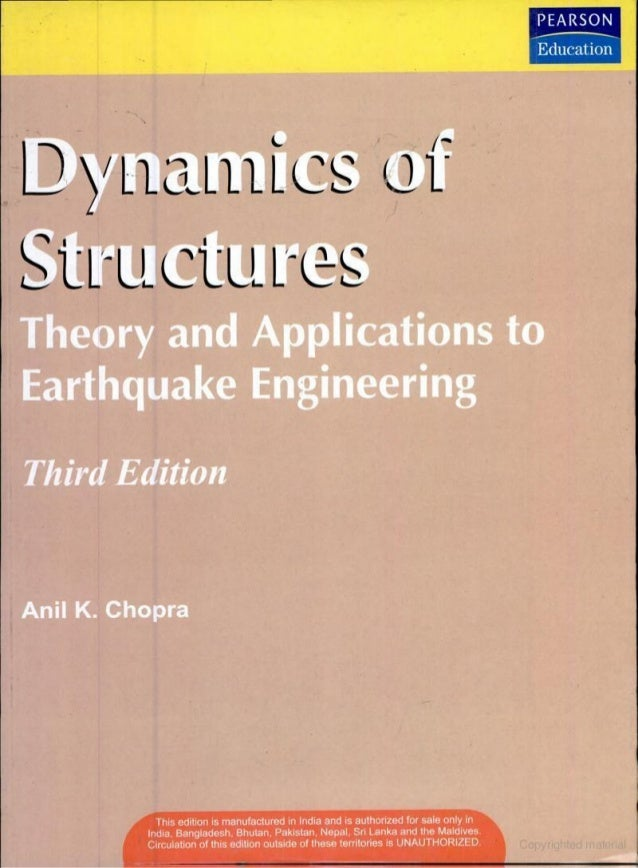 Anil chopra dynamics of structures pdf