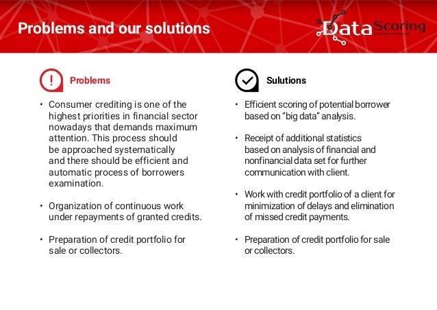 Big data credit scoring pdf
