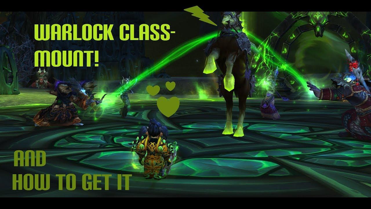 Warlock class mount quest guide