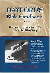 Jack hayford bible handbook