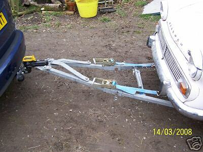 car towing a frame instructions