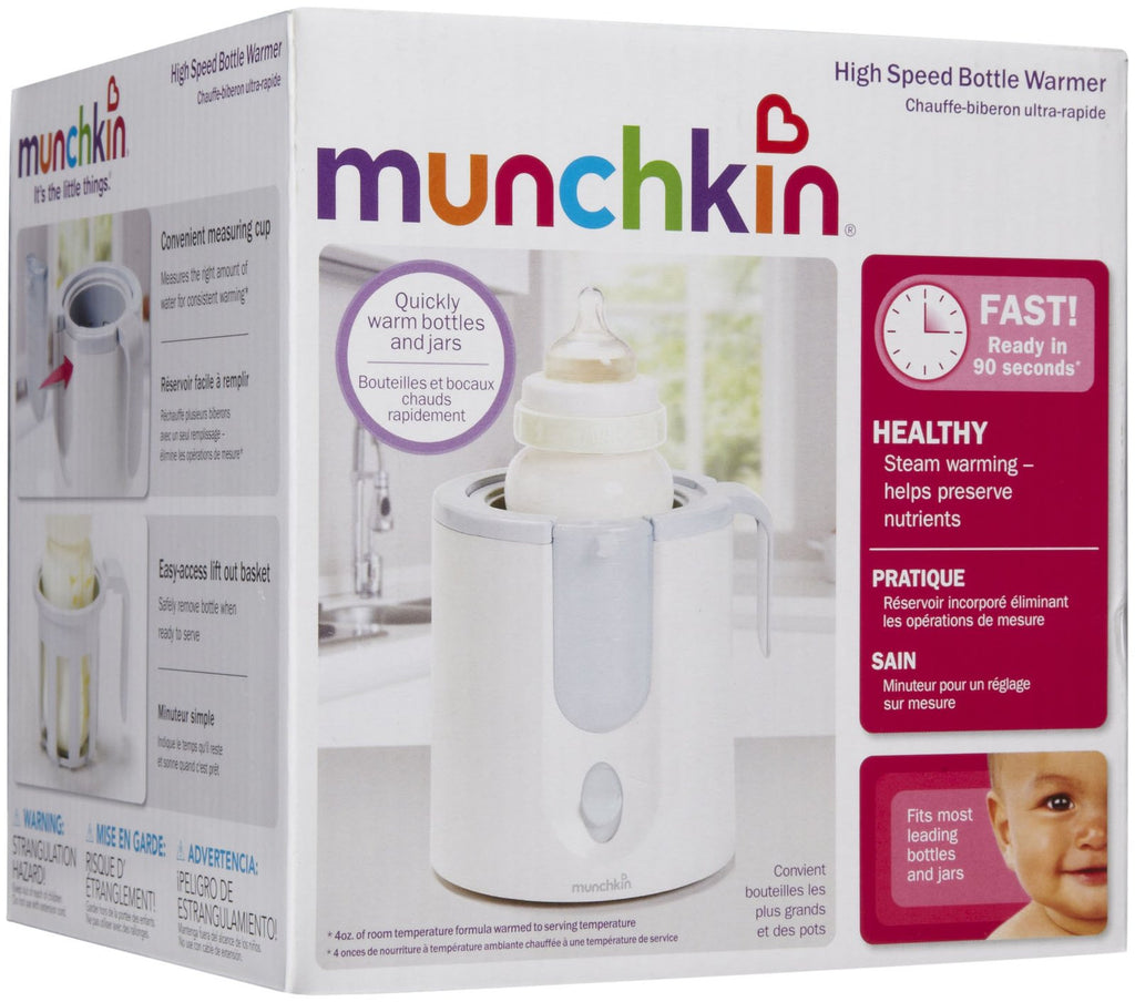 munchkin high speed bottle warmer instructions