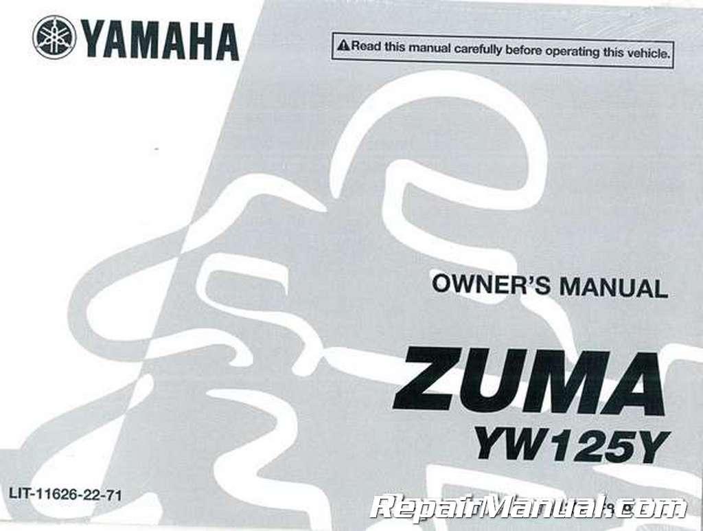 yamaha 2014 bws 125 shop manual