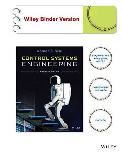 Control systems engineering nise 7th edition solution manual
