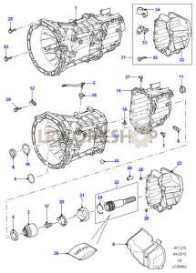 land rover defender parts manual