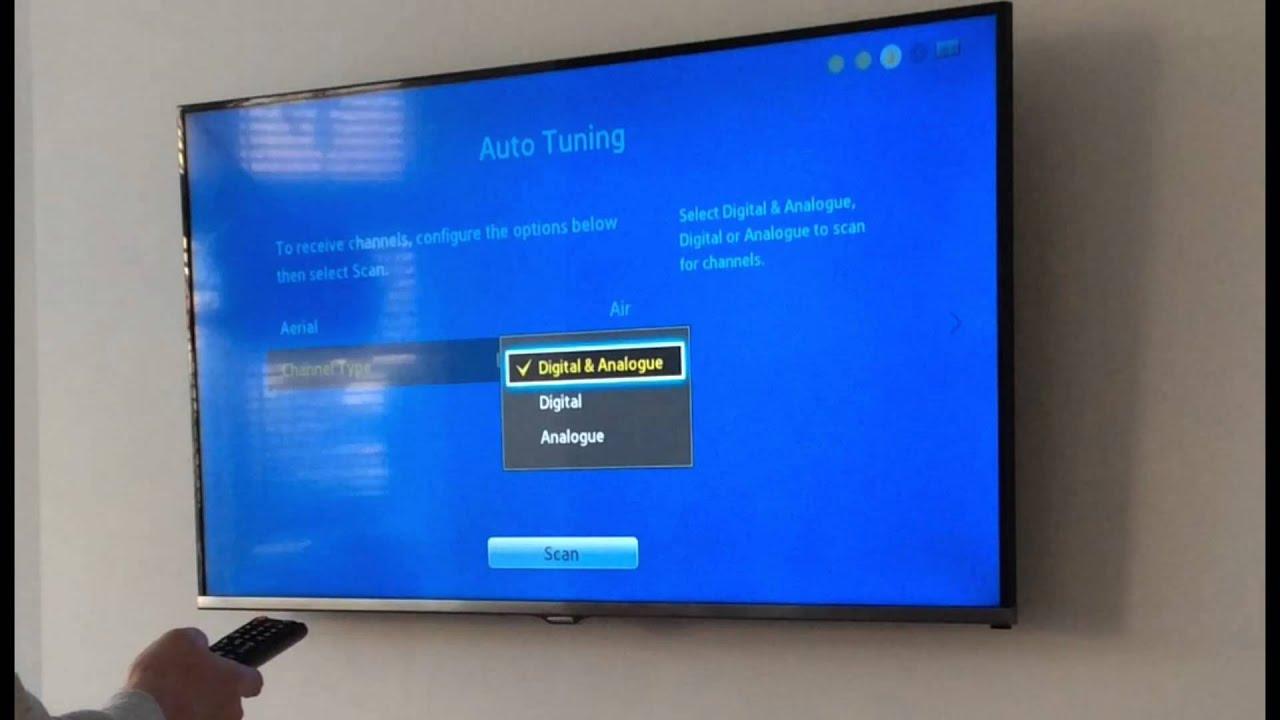 samsung smart tv manual tune